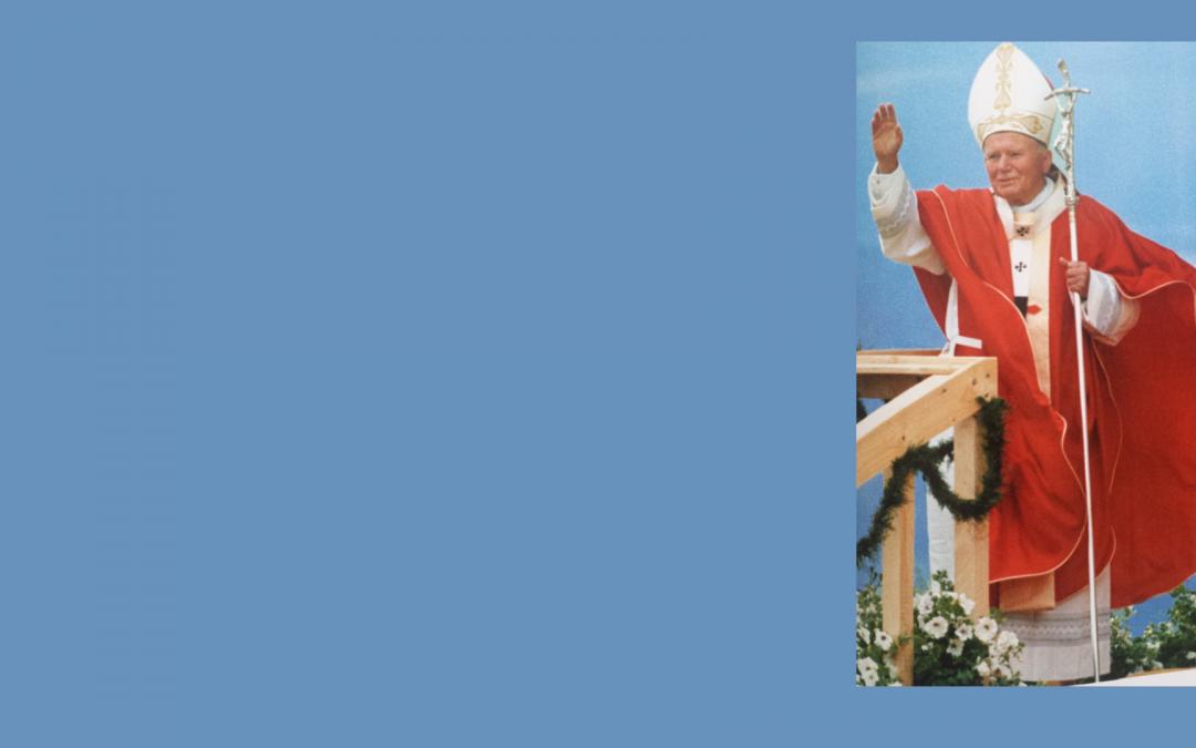 15.rocznica śmierci Św. Jana Pawła II