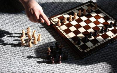 Pierwsze rozgrywki szachowe najsłodszych